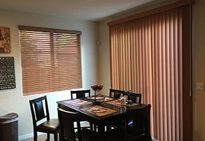 Vertical Blinds in Gilroy