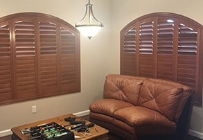 Wood Blinds in Gilroy