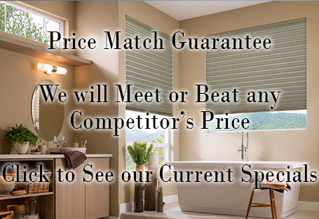 Price Match Guarantee - We will Meet or Beat any Competitor's Price - Click to See our Current Specials