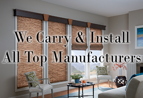 We Carry & Install All Top Manufacturers